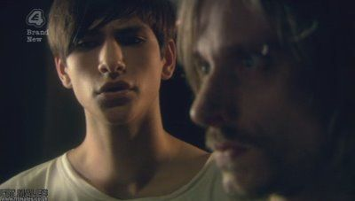 Skins Episode 2: Luke Pasqualino (briefly Shirtless) and Jack O'Connell
