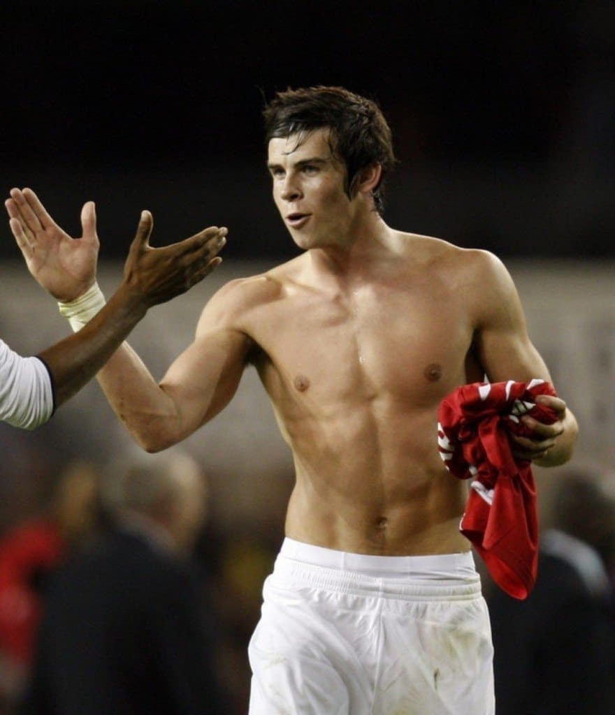 Gareth Bale Shirtless