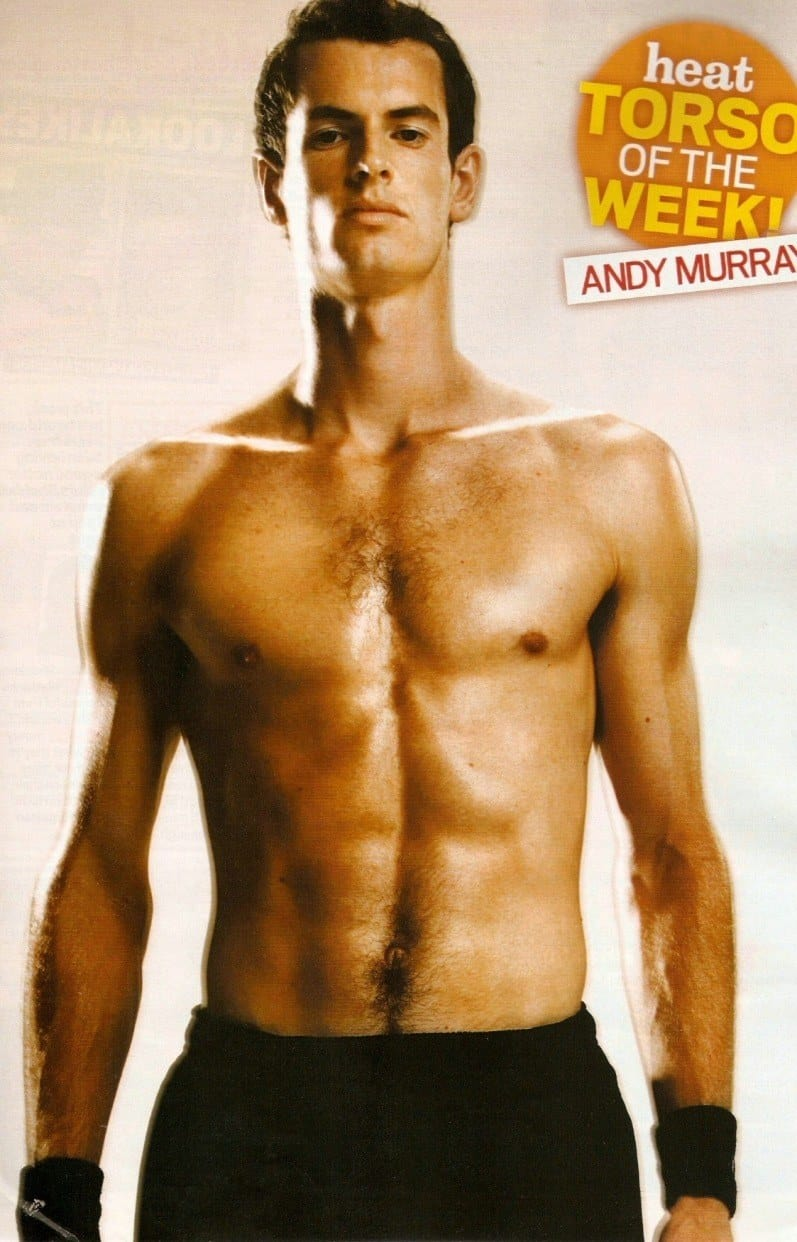 Andy Murray Shirtless image