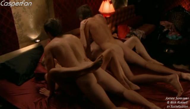 James Sorensen and Nick Russell naked in Satisfaction