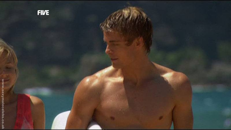 Luke Mitchell Shirtless In Home and Away image