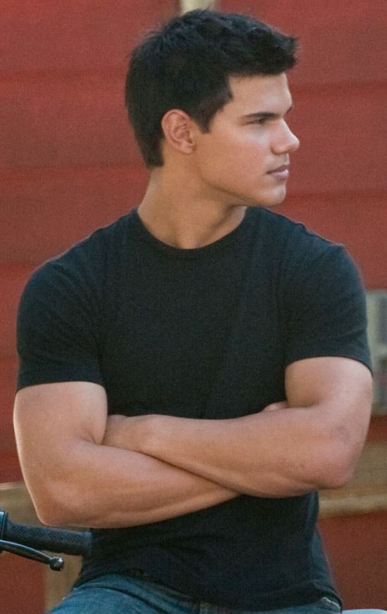 Taylor Lautner Arms image