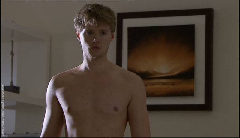 Neil Toon Shirtless in Hollyoaks image