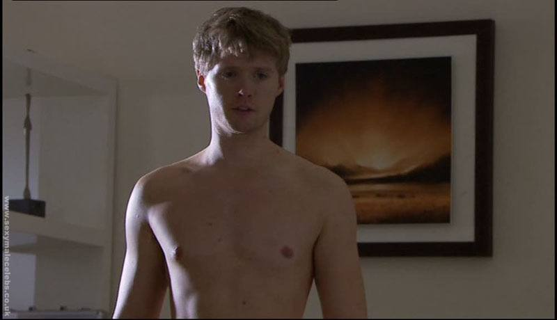 Neil Toon Shirtless in Hollyoaks