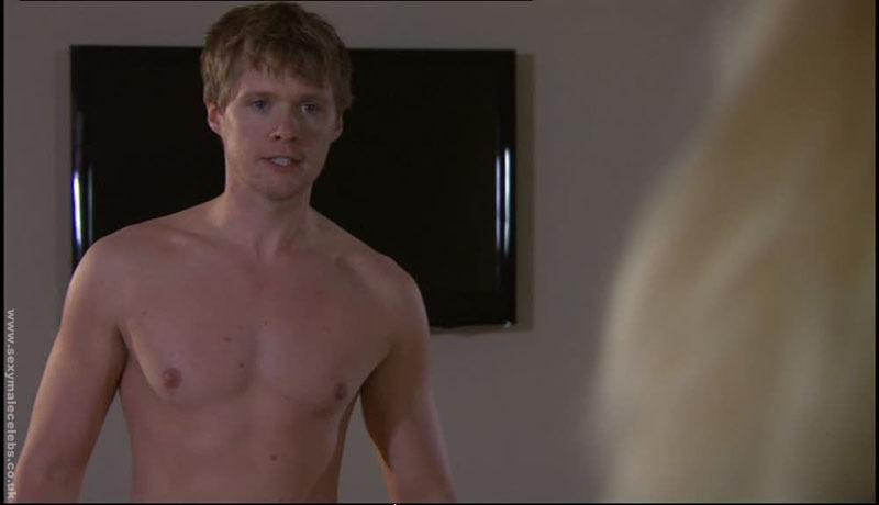 Neil Toon Shirtless Again in Hollyoaks