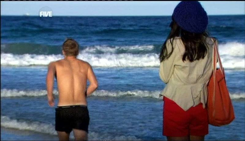 David Jones Roberts Shirtless In Home & Away