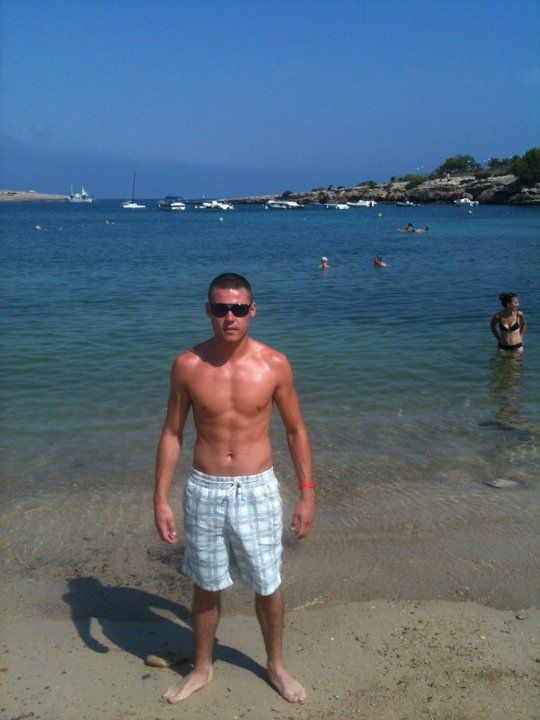 Danny Miller Shirtless On Holiday