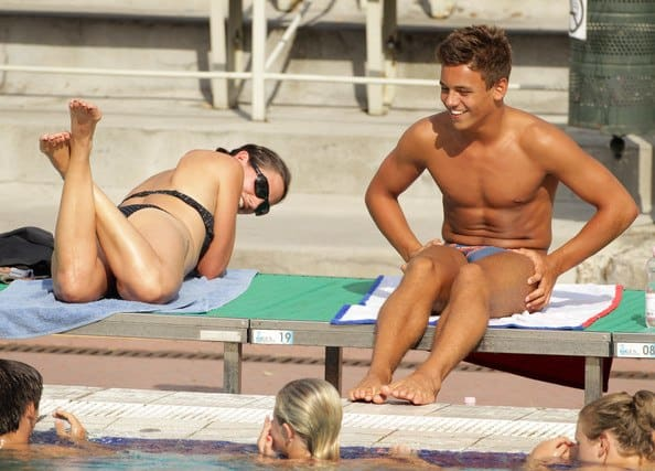 More Tom Daley Shirtless