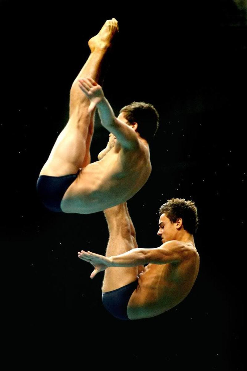 Tom Daley At The Commonwealth Games Part 1