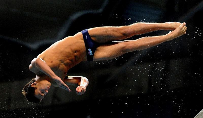 Tom Daley At The Commonwealth Games Part 2