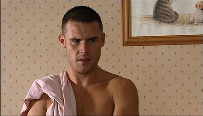 Danny Miller Shirtless In Emmerdale