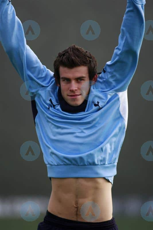 Gareth Bale In Training