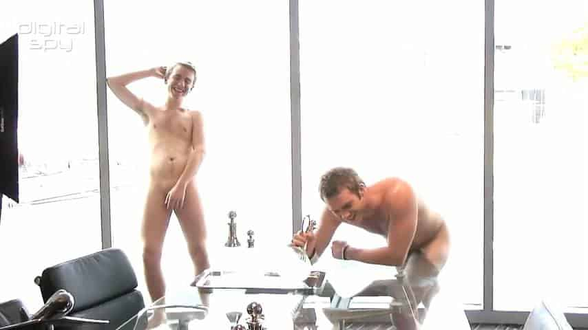 Chris Fountain & Steven Webb In Gay Times Naked Phootshoot image
