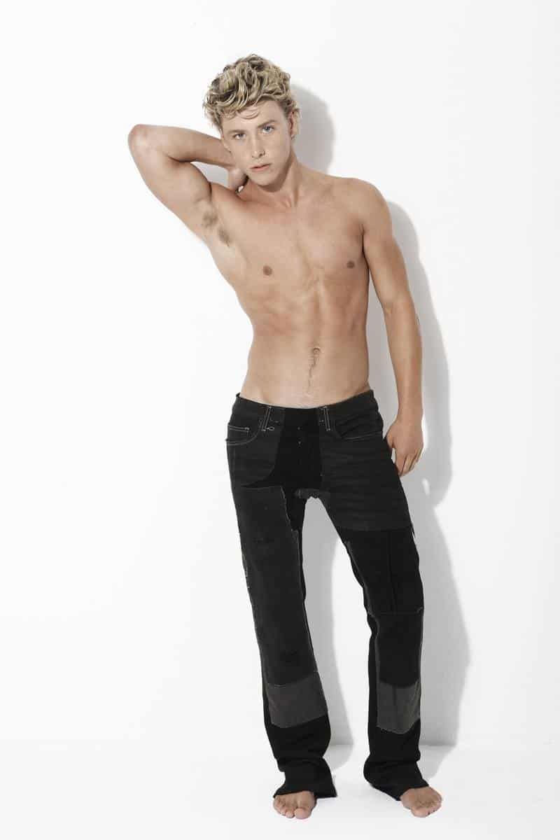Mitch Hewer Shirtless