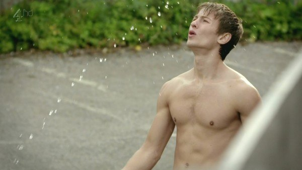 Elliott Tittensor Shirtless In Shamless Series 8 Episode 6 image