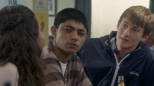 Elliott Tittensor and Qasim Akhtar In Shameless S08 E04 image