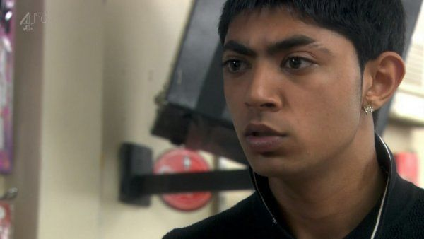 Qasim Akhtar in Shameless Series 8