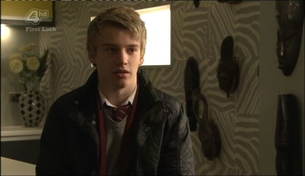 Miles Higson in Hollyoaks