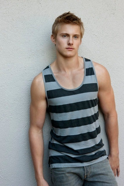 Alexander Ludwig, Including Shirtless