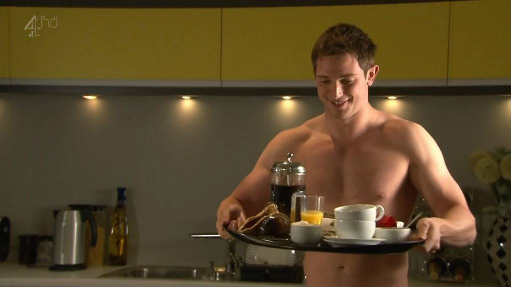 Rob Norbury In Just Boxers