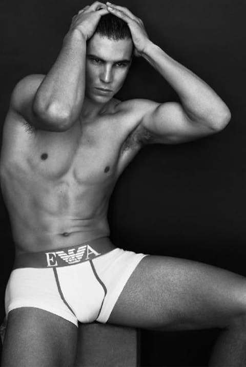 Rafael Nadal Shirtless Armani Pictures