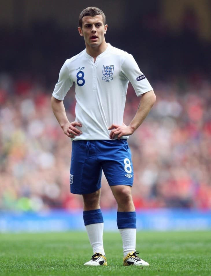 Jack Wilshere - Jack Wilshere In Football Kit