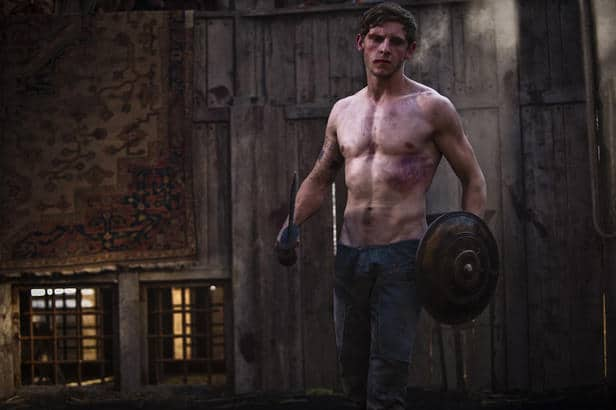 Jamie Bell Shirtless Stills From New Movie image