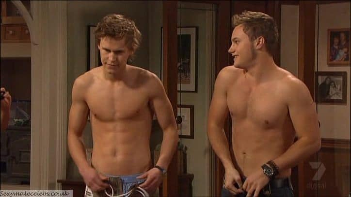 Home and Away Strip Poker   Mark Furze and Rhys Wakefield image