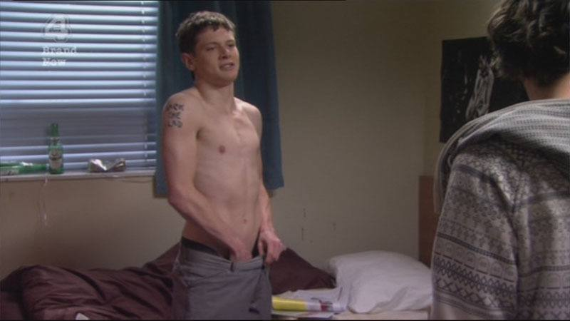 Jack O'Connell Shirtless in Skins