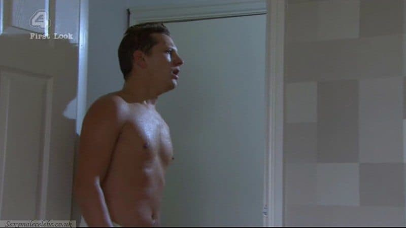 James Sutton   Shirtless in Shower image