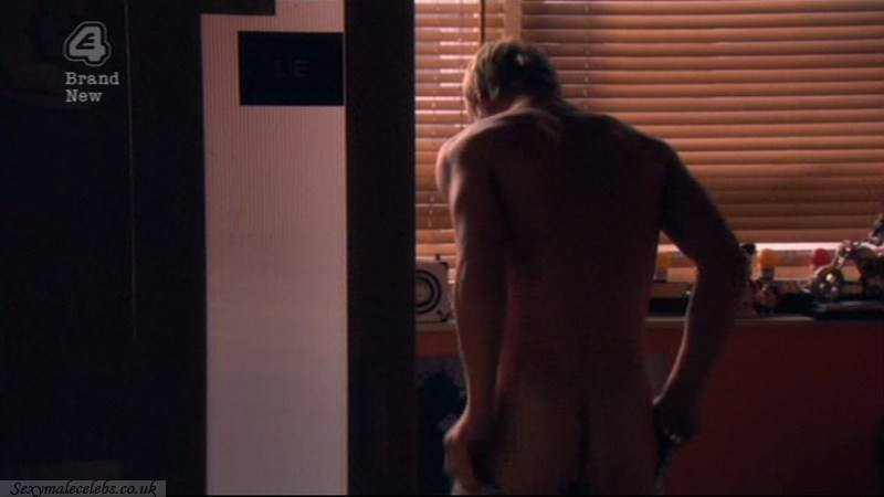Mitch Hewer Naked Bum