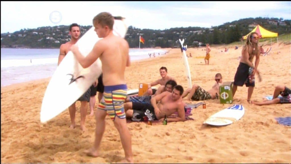 David Jones Roberts and Dan Ewing Shirtless