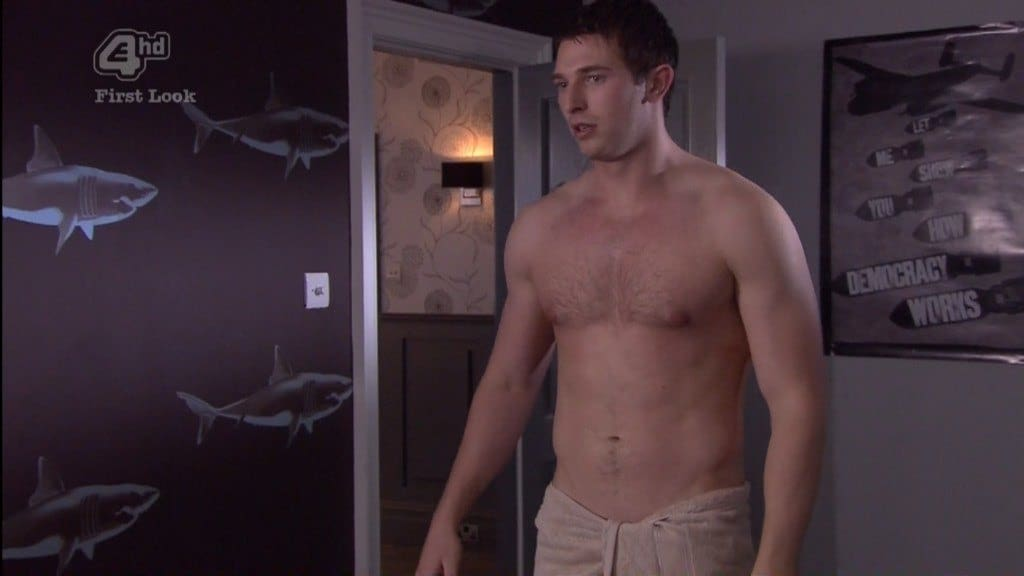 Rob Norbury Shirtless, In Just A Towel