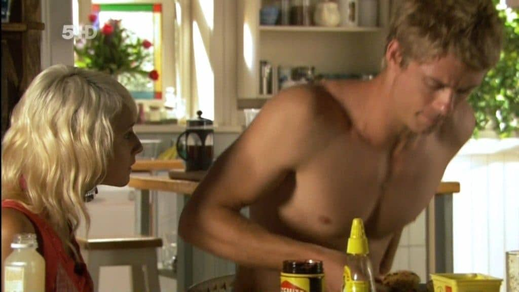 Luke Mitchell Shirtless 21st March 2010