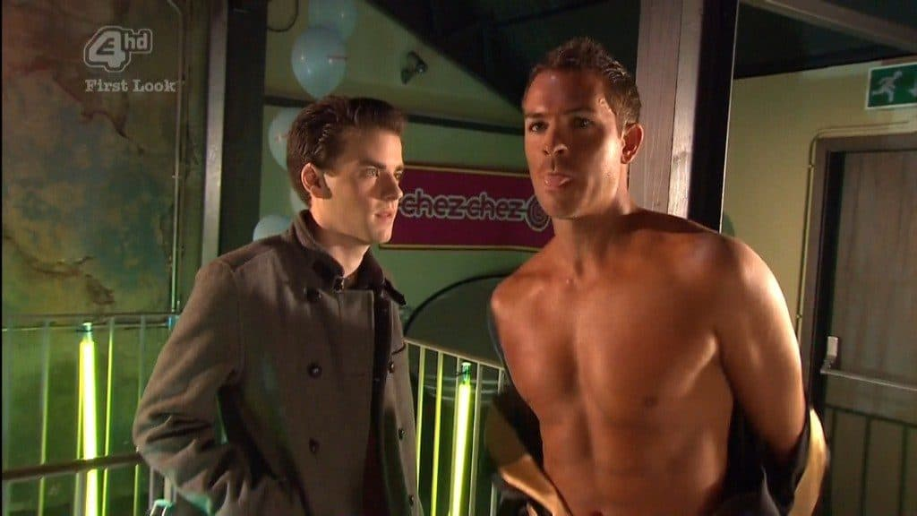 Ashley Taylor-Dawson Shirtless In Heat Torso Of The Month Photoshoot