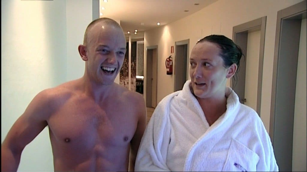 Andrew From Coach Trip Shirtless