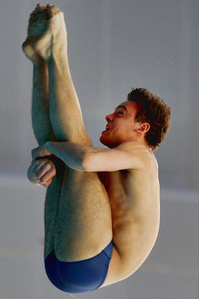 Tom Daley In Diving World Series