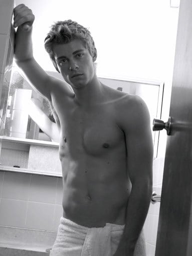 Luke Mitchell Shirtless Photoshoot image