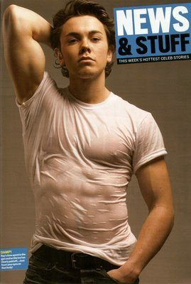 Ray Quinn In a Wet T Shirt