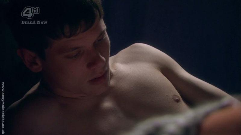 Jack OConnell Shirtless In Skins image