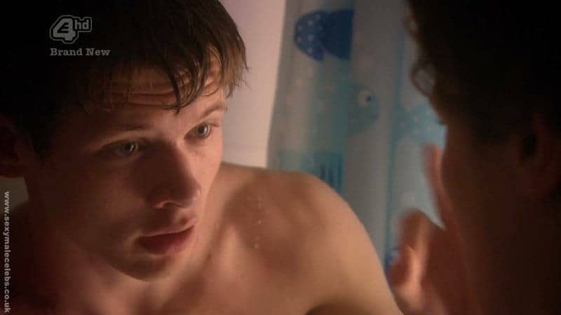 Jack OConnell Naked In The Shower image