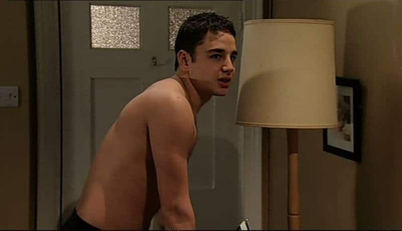 Adam Thomas Shirtless (In His Boxers)