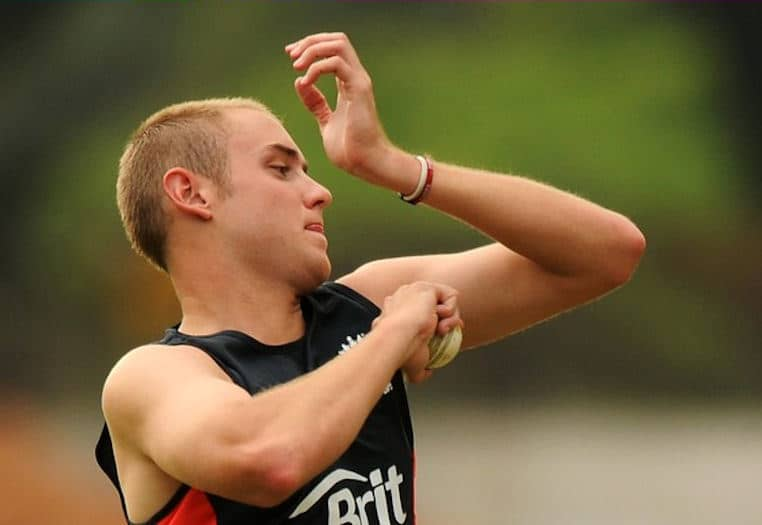 Stuart Broad Training image