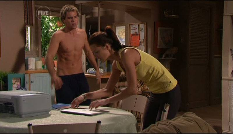 Lincon Lewis Shirtless in Home and Away image