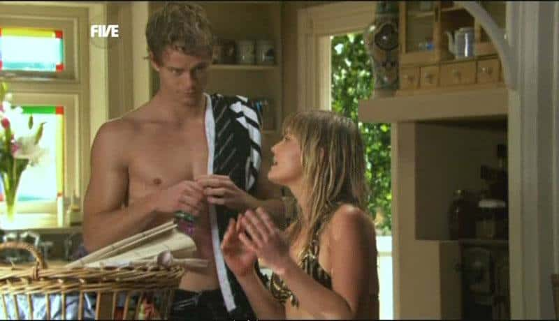 Luke Mitchell Shirtless image