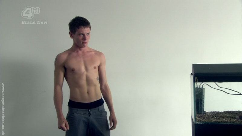 Jack OConnell Shirtless in Skins 2010 image