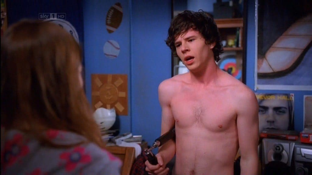 Charlie McDermott Shirtless In The Middle