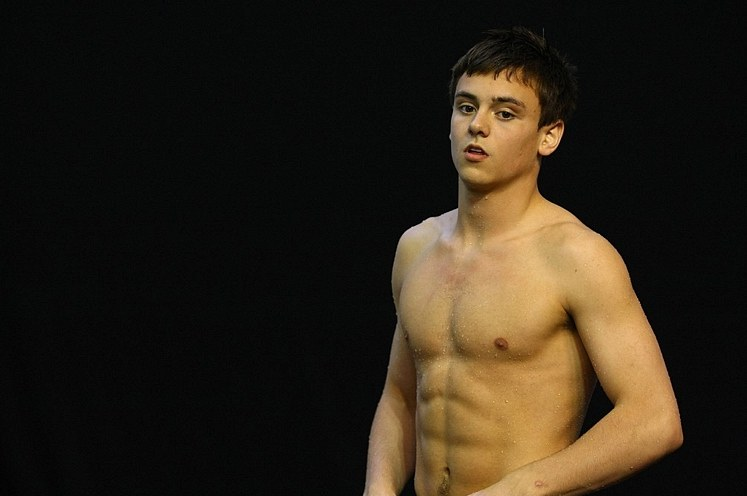 New Tom Daley At FINA Diving World Series 2011