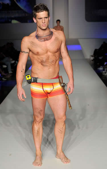 Dan Ewing Shirtless Catwalk Pics image