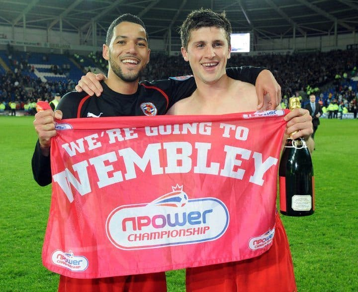 Shane Long Shirtless After Cardiff City Game image